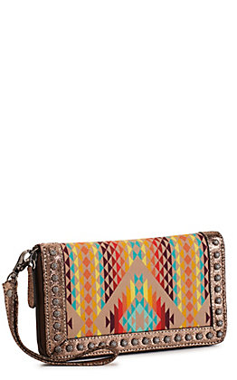 Ariat Women's Southwest Cruiser Wrist Strap Wallet