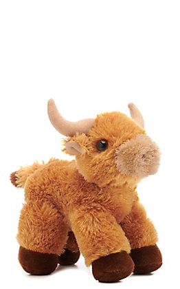 Aurora Mini Flopsies Toro Stuffed Bull