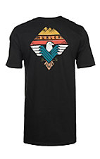 Hurley Men's Black Surfing Bird S/S T-Shirt