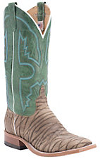 Anderson Bean Men's Dirty Sasquatch w/ Emerald Top Double Welt Square Toe Western Boots