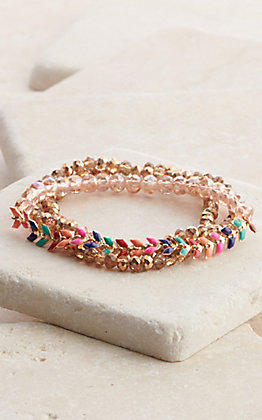 Ashlyn Rose Multi-Color So Dainty & Sweet Bracelet Set