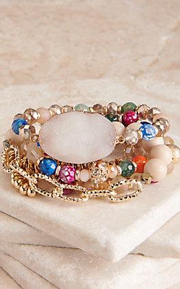 Ashlyn Rose All Year Long Multi-Color Bracelet Set