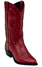 Abilene Boot Company Ladies Red Western Boots