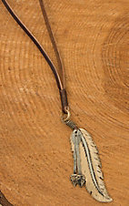 Augus Feather & Arrow Necklace