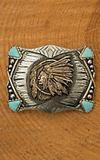 Augus Apache Chief Buckle