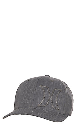 Hurley Cove Charcoal with 3-D Outlined Logo Cap
