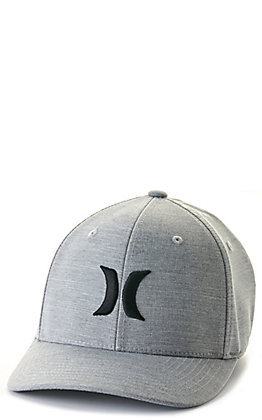 Hurley Cutback Grey and Black Dri-FIT Cap