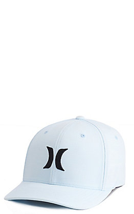 Hurley Men's Topaz With Black Logo Dri-Fit Cap