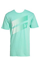 Hurley Men's Tropic Premium Icon Slash Gradient Short Sleeve Tee
