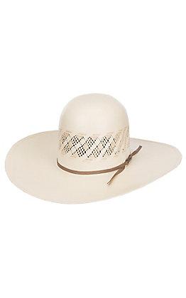 American Hat Co. 20X Two-Tone Open Crown Shantung Straw Cowboy Hat