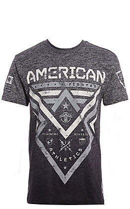 American Fighter Men's Grey Lakehurst Graphic T-Shirt