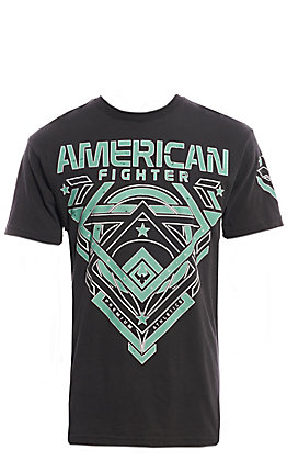 American Fighter Men's Black  Fowler Graphic T-Shirt