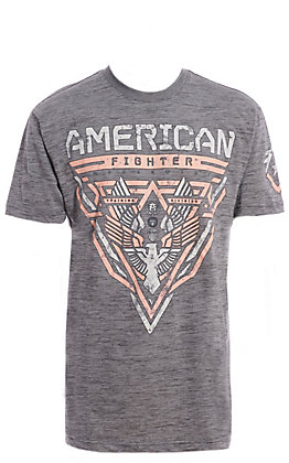 American Fighter Men's Grey Fullerton Graphic T-Shirt