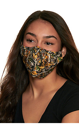 Realtree Camo Cloth Face Mask with Filter