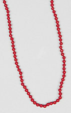 Ashlyn Rose Red Beaded 17 inch Layering Necklace