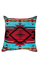 Manual Woodworkers & Weave Aztec Tapestry Design Throw Pillow