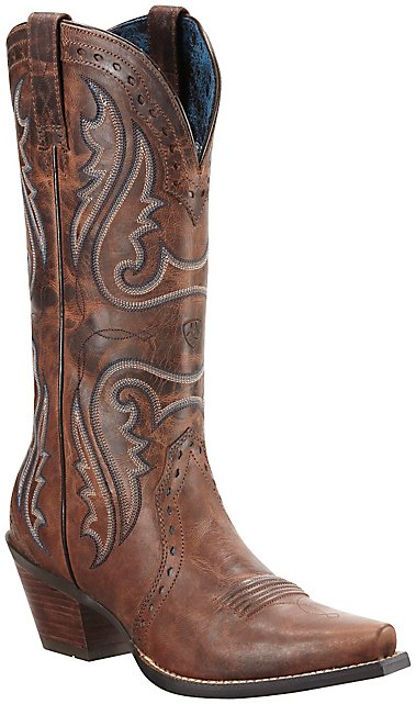 Ariat Women's Sassy Brown Heritage X-Toe Western Boots | Cavender's