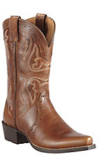 Ariat Heritage Youth Vintage Cedar Snip Toe Western Boots