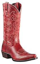 Ariat Alabama Women's Redwood Snip Toe Western Boots