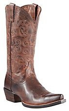 Ariat Alabama Women's Sassy Brown Snip Toe Western Boots
