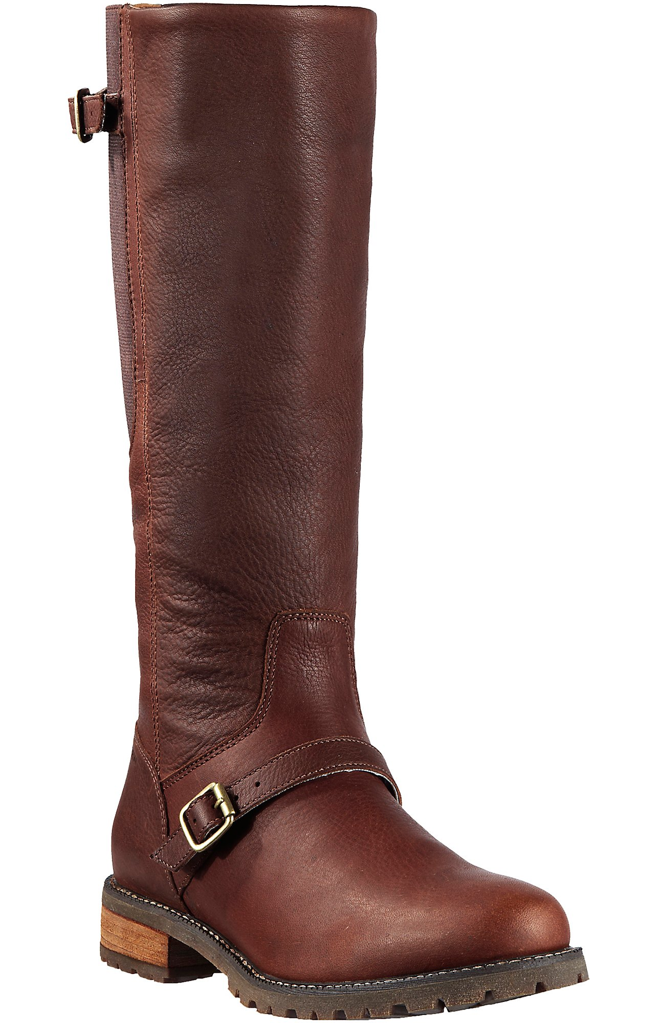 Tall Round Toe Boots