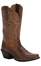 Ariat Women's Dusty Dune Round Up Square Toe Western Boots