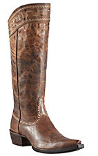 Ariat Sahara Women's Sassy Brown Snip Toe Tall Boots