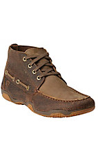 Ariat Holbrook Men's Earth & Bomber Brown Driving Moc Casual Shoe