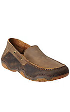 Ariat Gleeson Men's Earth & Bomber Brown Driving Casual Shoe