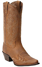Ariat Heritage Women's Root Beer Brown Wing Tip J-Toe Western Boot
