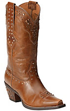 Ariat Women's Maple Sugar Rhinestone Cowgirl Snip Toe Western Boots
