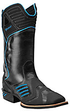Ariat Men's Thunder Black Catalyst Double Welt Square Toe Performance Boot