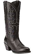 Ariat New West Women's Black Desert Holly Traditional Toe Western Boots