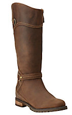Ariat Country Women's Walnut Tierney H20 Waterproof Tall Round Toe Riding Boot