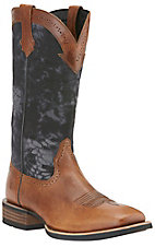 Ariat Quickdraw Men's Vintage Cedar with Kryptek Typhon Camo Upper Wide Square Toe Western Boots