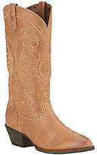 Ariat Magnolia Women's Golden Tan Traditional R-Toe Western Boots