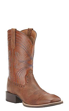 Ariat Sport Men's Sandstorm Wide Square Toe Western Boots