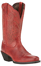 Ariat Women's Legend Redwood Punchy Square Toe Western Boots