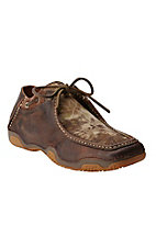 Ariat Rock Springs Men's Wicker Brown with Kryptek Camo Driving Casual Shoe