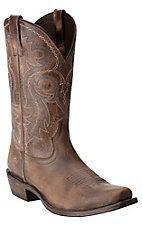 Ariat Men's Lawless Rustic Maple Punchy Square Toe Western Boot
