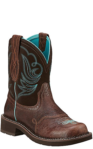 Ariat Fatbaby Heritage Dapper Women's Royal Chocolate with Fudge ...