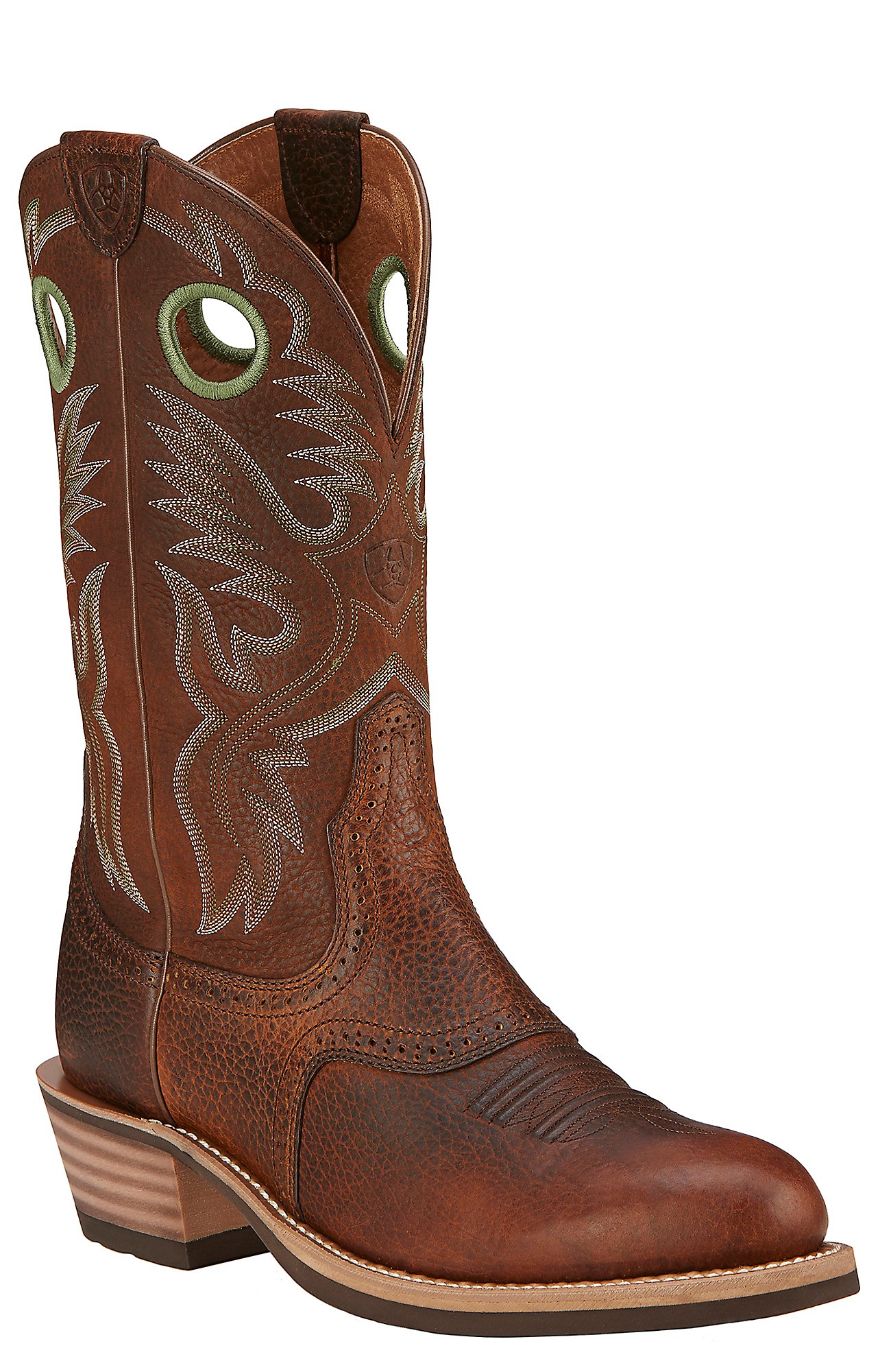 Round Toe Western Boots