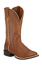 Ariat Rodeo Warrior Men's Crazy Tan Double Welt Square Toe Western Boots