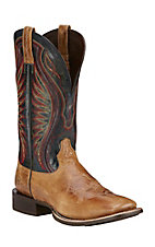 Ariat Rodeo Warrior Men's Shadow Brown Double Welt Square Toe Western Boots