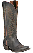 Ariat Revel Women's Rustic Black Snip Toe Tall Western Boots