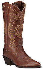 Ariat Magnolia Women's Cinnamon Traditional R-Toe Western Boots