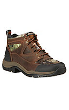Ariat Terrain Men's Distressed Brown with Camo Endurance Hiker Boots