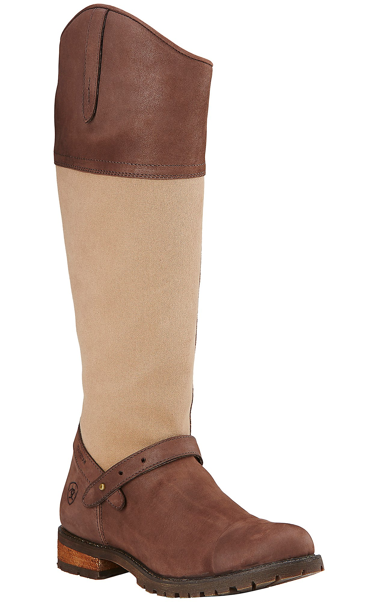 Wool Upper Round Toe Boots