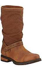Ariat Chatsworth H20 Women's Shetland Brown with Canvas Upper Round Toe Boots