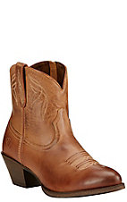 Ariat Darlin Women's Burnt Sugar Almond Toe Western Booties